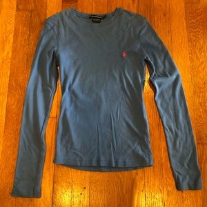 Ralph Lauren sport long sleeve crew neck shirt